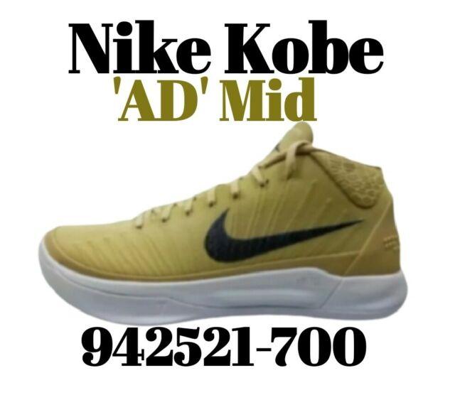 Size 13 - Nike Kobe A.D. Mid Team Gold