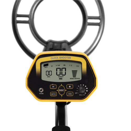Metalldetektor MCE993 Metalsuchgerät Tiefensonde Metallortungsgerät Kopfhörer