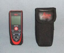 New Listingleica Geosystems Disto D2 Laser Distance Meter Black Amp Red 838725 Lightly Used