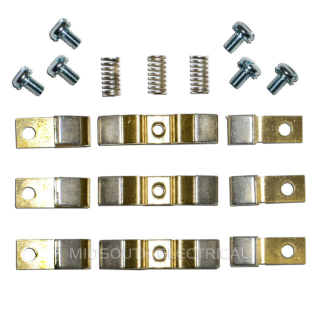 Yuco YC-CK-6-288 Replacement Contact Kit for Cutler-Hammer 3 Pole Kit 1 Set