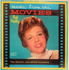 MAYFAIR ALL-STAR ORCHESTRA MUSIC FROM THE MOVIES LP 196 ...