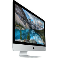 Apple Imac 27 Retina 5k I7-4.0ghz Quad-core 3tb Fusion,32gb Ddr3, R9 M390
