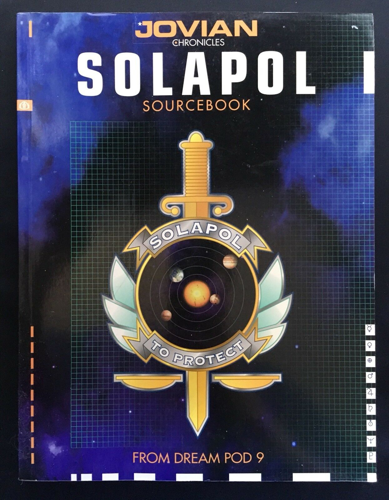 Jovian Chronicles - Solapol Sourcebook - Dream Pod 9