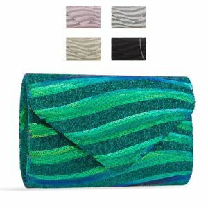 Ladies-Sequin-Envelope-Clutch-Bag-Glitter-Party-Bag-Evening-Bag-Handbag-KZ2426