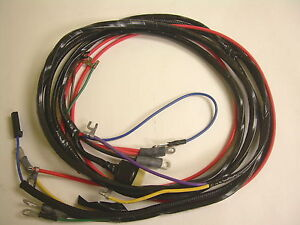 1958 1959 1960 1961 corvette engine starter wiring harness automatic Dodge Ram Wiring Harness image is loading 1958 1959 1960 1961 corvette engine starter wiring