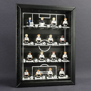 Caja Para Figuras Vitrina De Colección Lego Serie 71014 Minifiguras