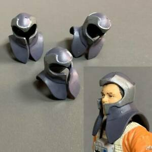 Lot 3 Helmet Fit For 3.75'' Star wars action Figures Toy The Clone Ultra Rare #6