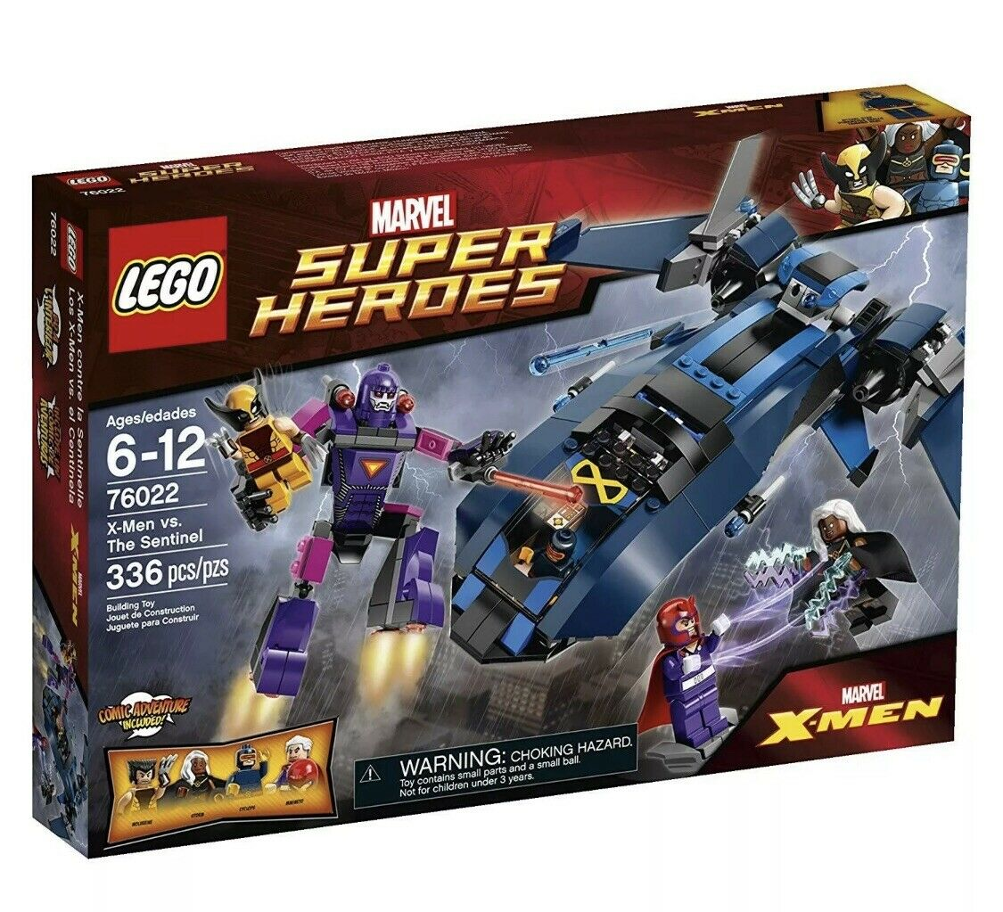 Sellado Lego Marvel súper Heroes X-Men vs. The Sentinel (76022) Envío Gratis retirado