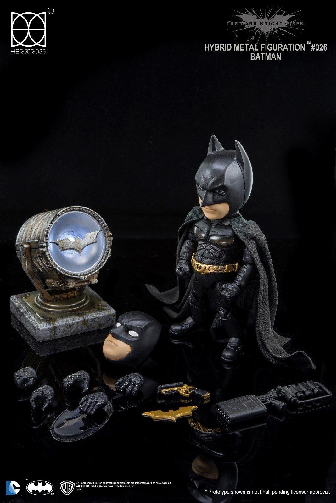 HEROCROSS The Dark Knight Rises Batman & Joker Gotham City Figure Boxset