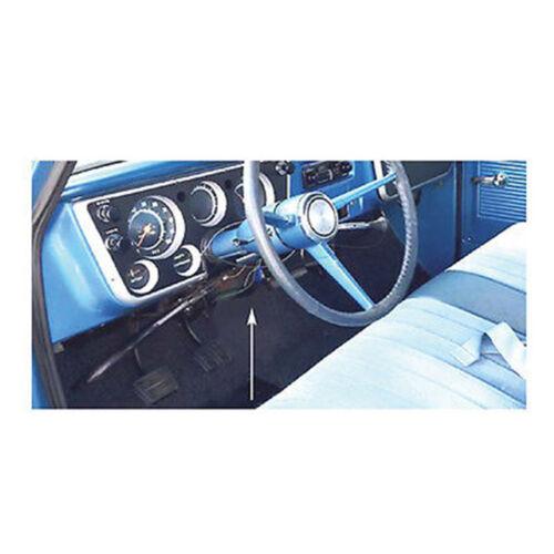 67-68 Chevy /& GMC Pickup Truck Chrome Hand Parking Brake Cover Trim 1967 1968
