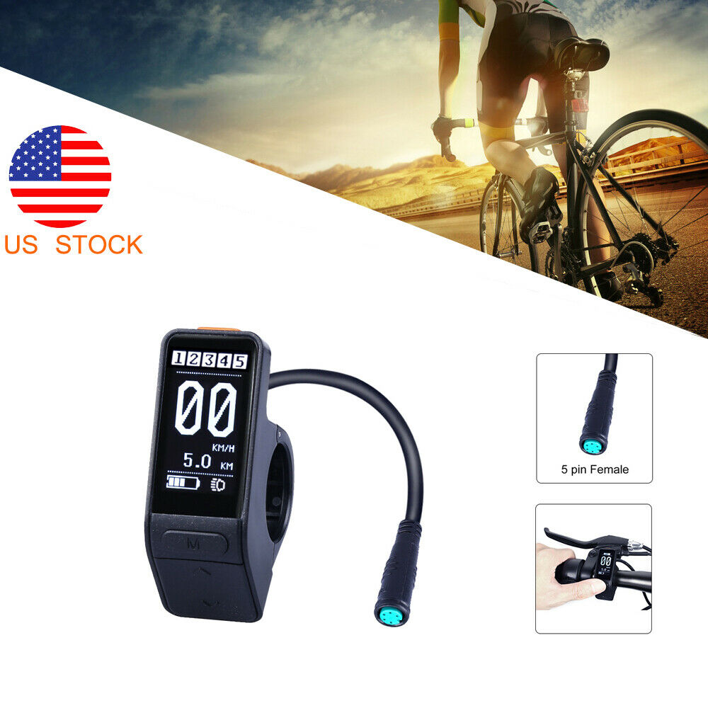 Speed Control Thumb Throttle For Bafang Motor BBS01 02 Electric Bike Supplies