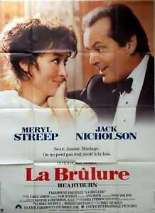 Plakat Kino La Brennen Jack Nicholson Meryl Streep - 120 X 160 CM