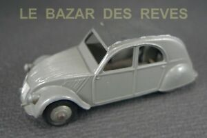 DINKY-TOYS-FRANCE-CITROEN-2-CV-24-T-rare-version-jantes-argentees