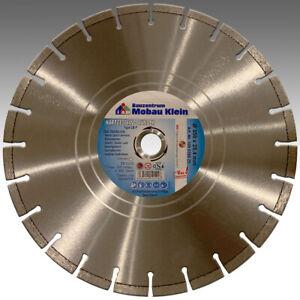 PREMIUM-Hartgestein-350mm-x-25-4mm-Diamant-Trennscheibe-Naturstein-Beton-Granit