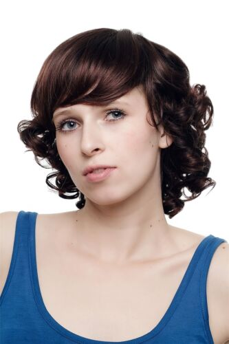 Baroque & Biedermeier Postmodern Curly Short Women's Wig Brown Mix sa0312t33