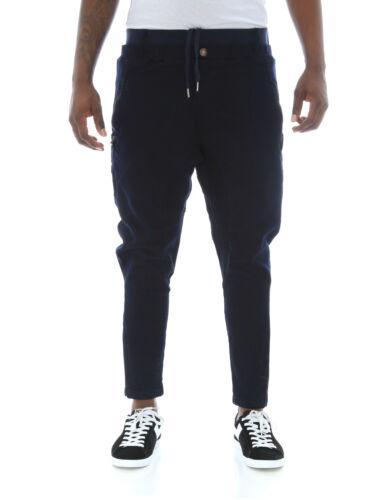 Copper Rivet Men/'s Drop Crotch Twill Button Up Ankle Jogger Pants
