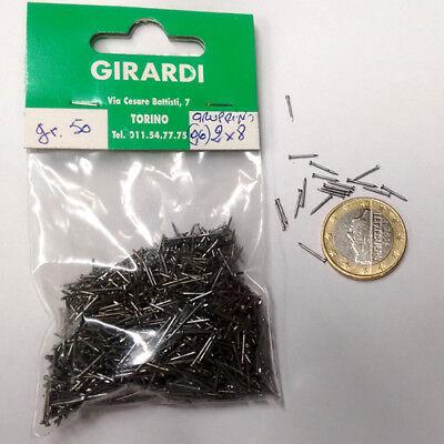 diametro Mm0,7 - Busta Da Gr 2 X 8 Chiodi Gruppino In Ferro N 50 Aromatic Flavor