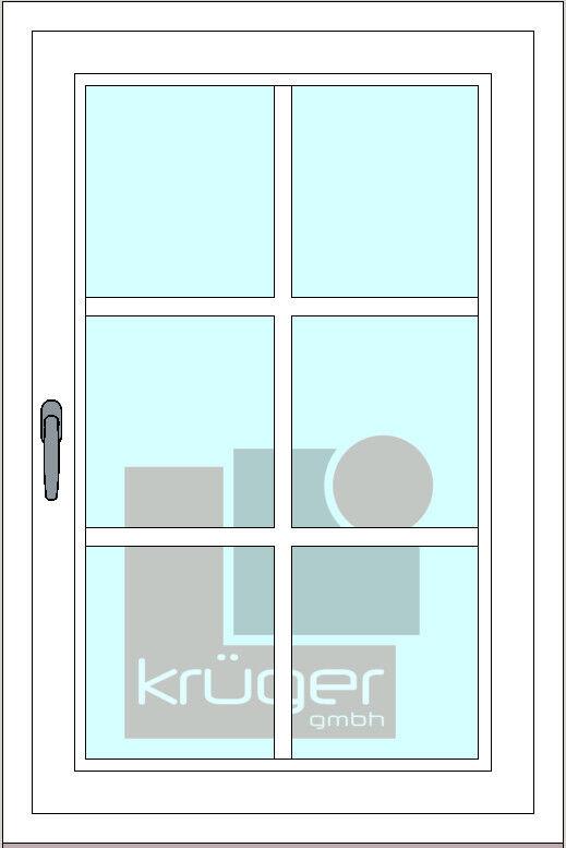 Sprossen zum Nachrüsten -für Balkontür- Kunststoff selbstklebend weiß mit Kreuz   Online Outlet Store    Online Outlet Shop    Gutes Design    Das hochwertigste Material