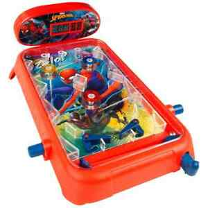 Spider-Man Electronic Pinball Machine With Lights /& Sounds Ideal Gift For Kids