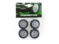FORD MUSTANG II KING COBRA WHEELS AND TIRE SET 1/18 BY GREENLIGHT 12883