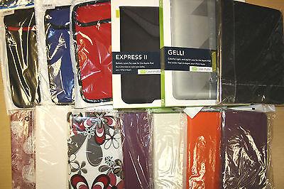 Joblot of iPad / Ipad Mini 2 3 4  Tablet Case Cover Wallet Sleeves Hardback X 20