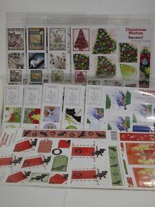 11 design house pyramid christmas decoupage kits 4xdie cut 7xun
