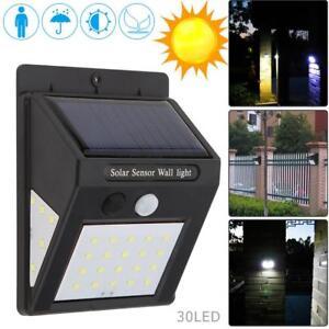 Luz-de-Energia-Solar-Sensor-De-Movimiento-Infrarrojo-Pasivo-Seguridad-para-Jardin-al-Aire-Libre
