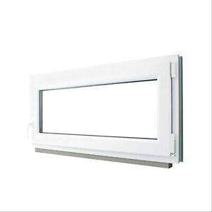 Finestre in PVC con Anta&Ribalta Doppio vetro con gas argon. Larghezza:650mm