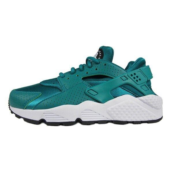 Original Nike Air Huarache Run Rio Aquamarin Schwarz 301 Weiß 634835 301 Schwarz Frauen 1771f5
