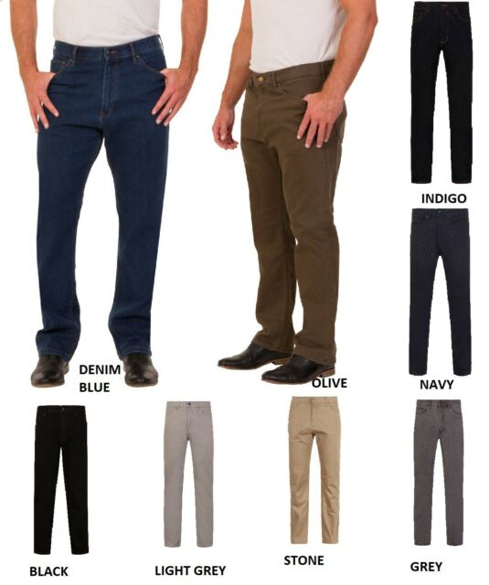 Mens Ex M/&S Corduroy Trousers Straight Fit  With Added Stretch