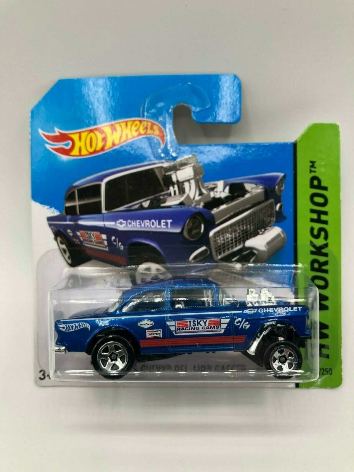 Hot Wheels 55 Chevy Bel Air Gasser In Short Card VVHTF