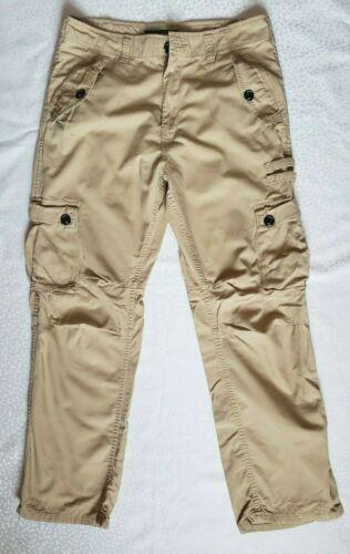 Rare Roca Wear Military Cargo Khaki Pants Men's 36