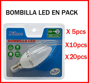 AMPOULE-BOUGIE-LED-5W-DOUILLE-PETIT-E14-LUMIERE-BLANC-6400K-LOT-DE-DEPUIS-5
