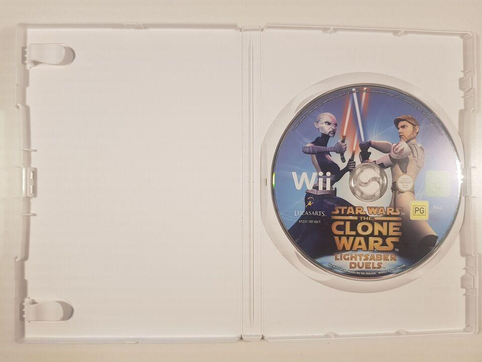 Star Wars, the clone wars, Nintendo Wii