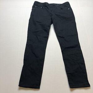 Gap Always Skinny Black Polka Dot Pants Sz 29P A1408