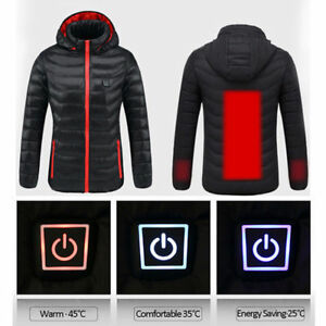 Heated Hunting Clothes >> Usb Heated Coat Women S Clothes Heating Jacket Heater Outdoor