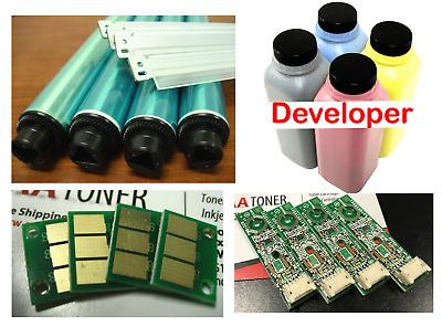 BCMY E 4 Drum Chip for Konica Minolta Bizhub C224 C284 C364 C454 C554 Refill