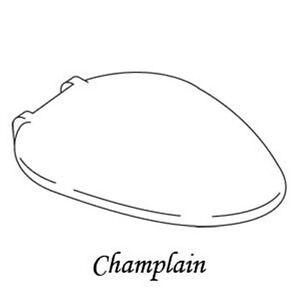 Suez Tan Replacement Toilet Seat For Kohler Champlain