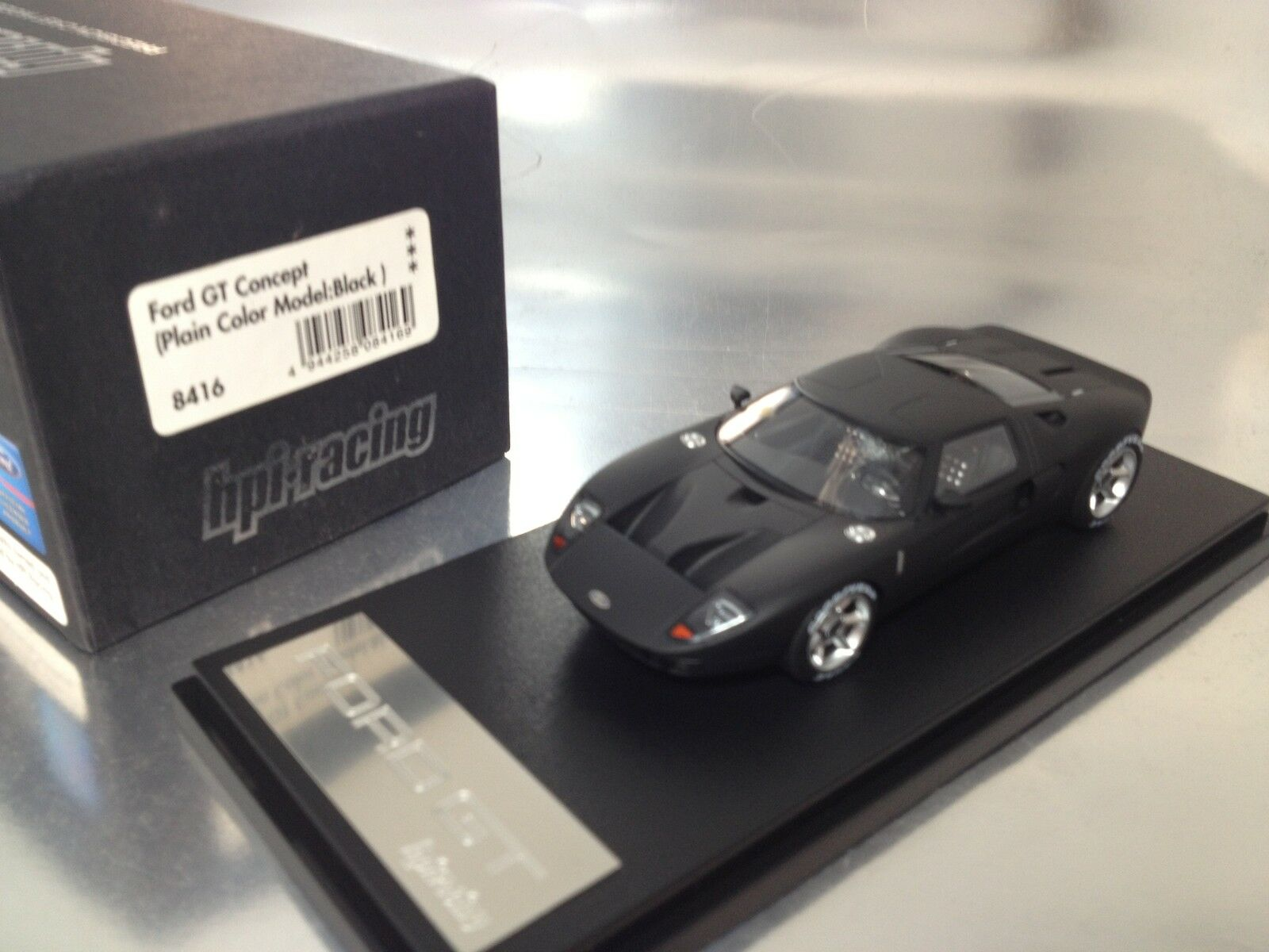 1/43 HPI-Racing 8416 Ford GT Concepto Negro Mate
