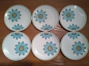 Mid Century Dessert Plates Vintage Plates