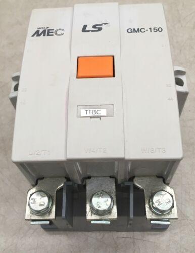 600V MAX 3 Pole Meta MEC LS THERMAL 3 POLE CONTACTOR GMC-150