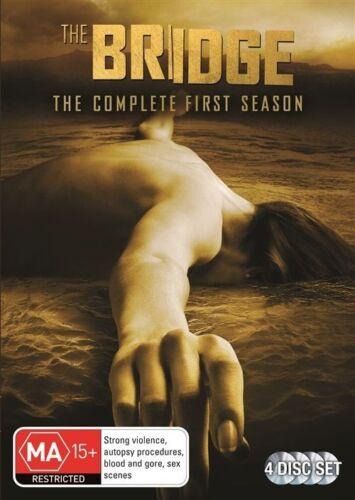 1 of 1 - The Bridge : Season 1 (DVD, 2014, 4-Disc Set) NEW