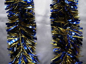 6-Blue-Gold-Tinsel-Christmas-Decorations-Tree-9cmx2m-K