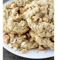 30 Peanut Butter Chip Oatmeal Lactation Cookies! A Month Of Full Bellies Cookies