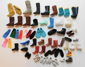 Vintage-Clone-Fashion-Doll-Ken-Barbie-Shoes-Boots-Mixed-Sizes-Lot-5