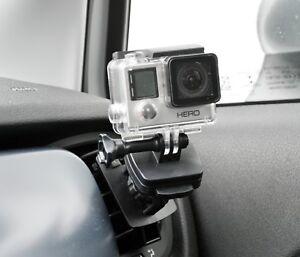 und neigbar für GoPro Rollei ActionCam Auto KFZ Scheiben Halter Halterung dreh