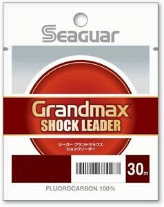 KUREHA Angelschnur Seaguar Grand Max Stoß Führer 9lb #1.75 30m 22359 JP Einfuhr
