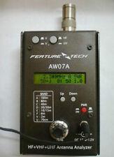 USA 160M HF/VHF/UHF Impedance SWR Antenna Analyzer AW07A f/ Ham Radio Hobbists