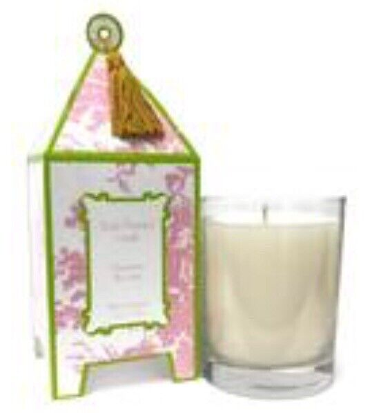 Lot of 2 Seda France Classic Toile Pagoda Fine Candles Viennese Blooms 10 oz  37