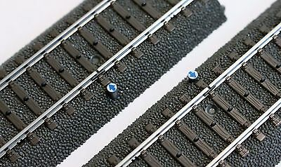 """Marklin 24995, C Track Contact, Detection Section Pair, 2x 94.2mm, 3-3/4"""" NIB"""